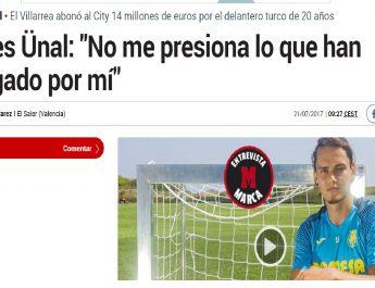 """Enes Ünal, Marca'ya konuştu: """"Kolay bir karar değildi."""""""